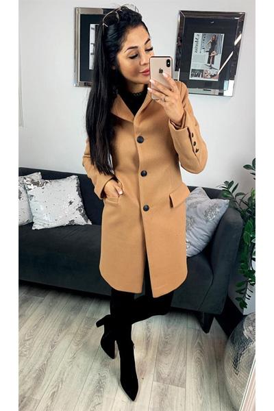 Kabát Carmen béžová