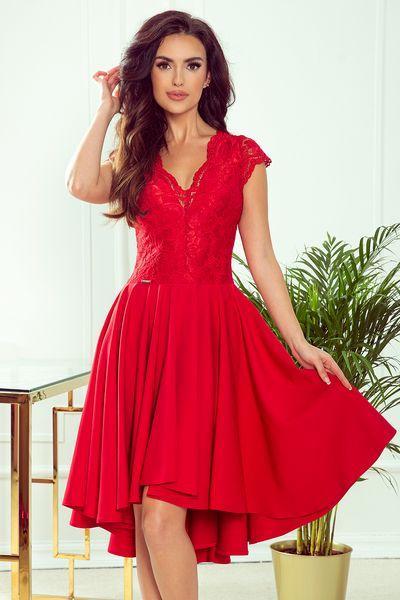 Červené spoločenské šaty Patricia