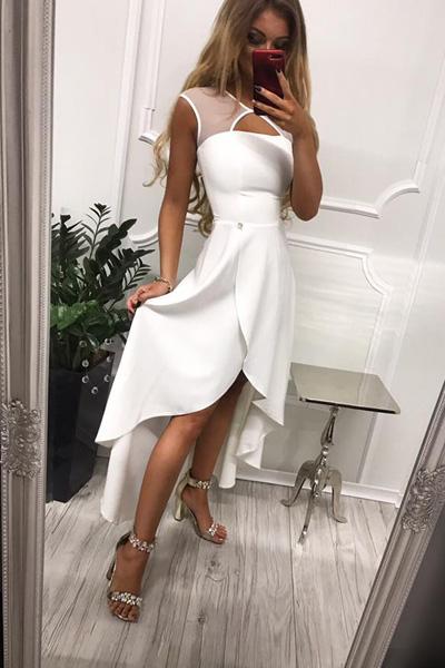 Biele spoločenské šaty Penelope