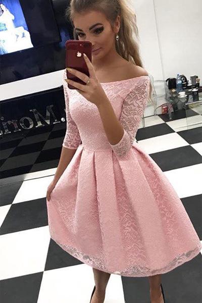Svetloružové spoločenské šaty Scarlett Midi