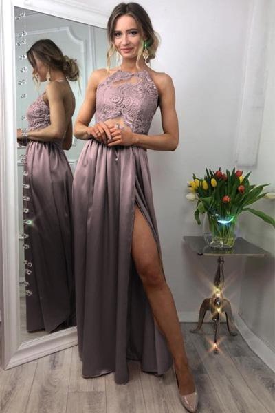 Staroružové spoločenské šaty Vivien