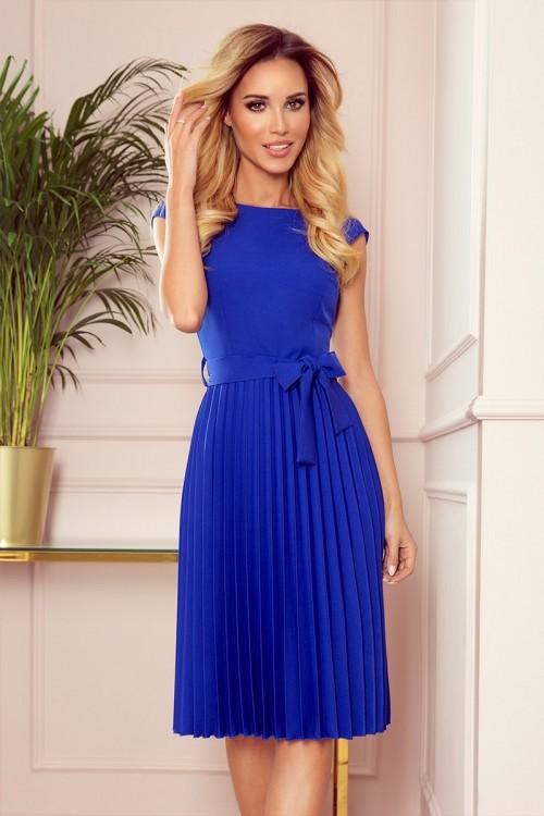 Modré spoločenské šaty Lila