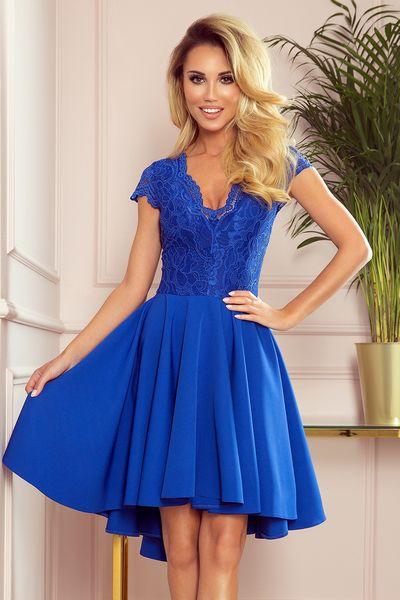 Modré spoločenské šaty Patricia
