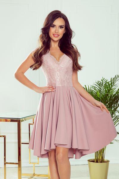 Ružové spoločenské šaty Patricia