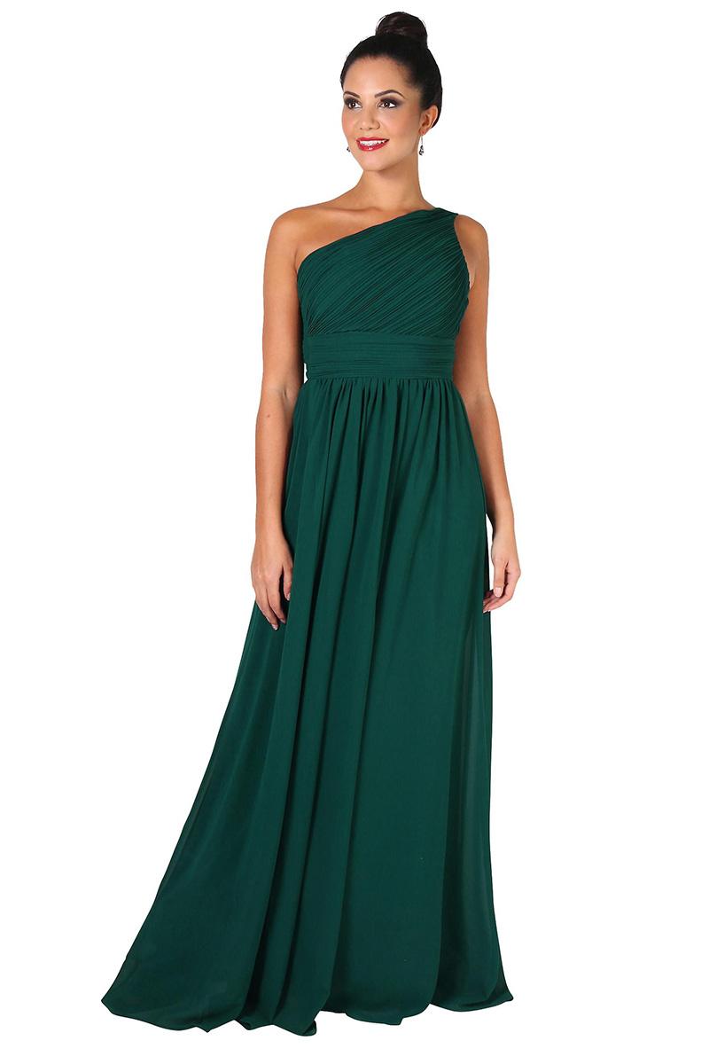 Zelené spoločenské šaty Elsie